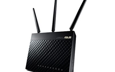 Recommended wireless router – ASUS (RT-AC68U) Wireless-AC1900 Dual-Band Gigabit Router