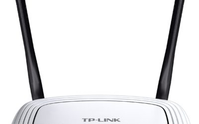 TP-Link N300 Wireless Wi-Fi Router, Up to 300Mbps (TL-WR841N) – Our choice for best budget wireless router!
